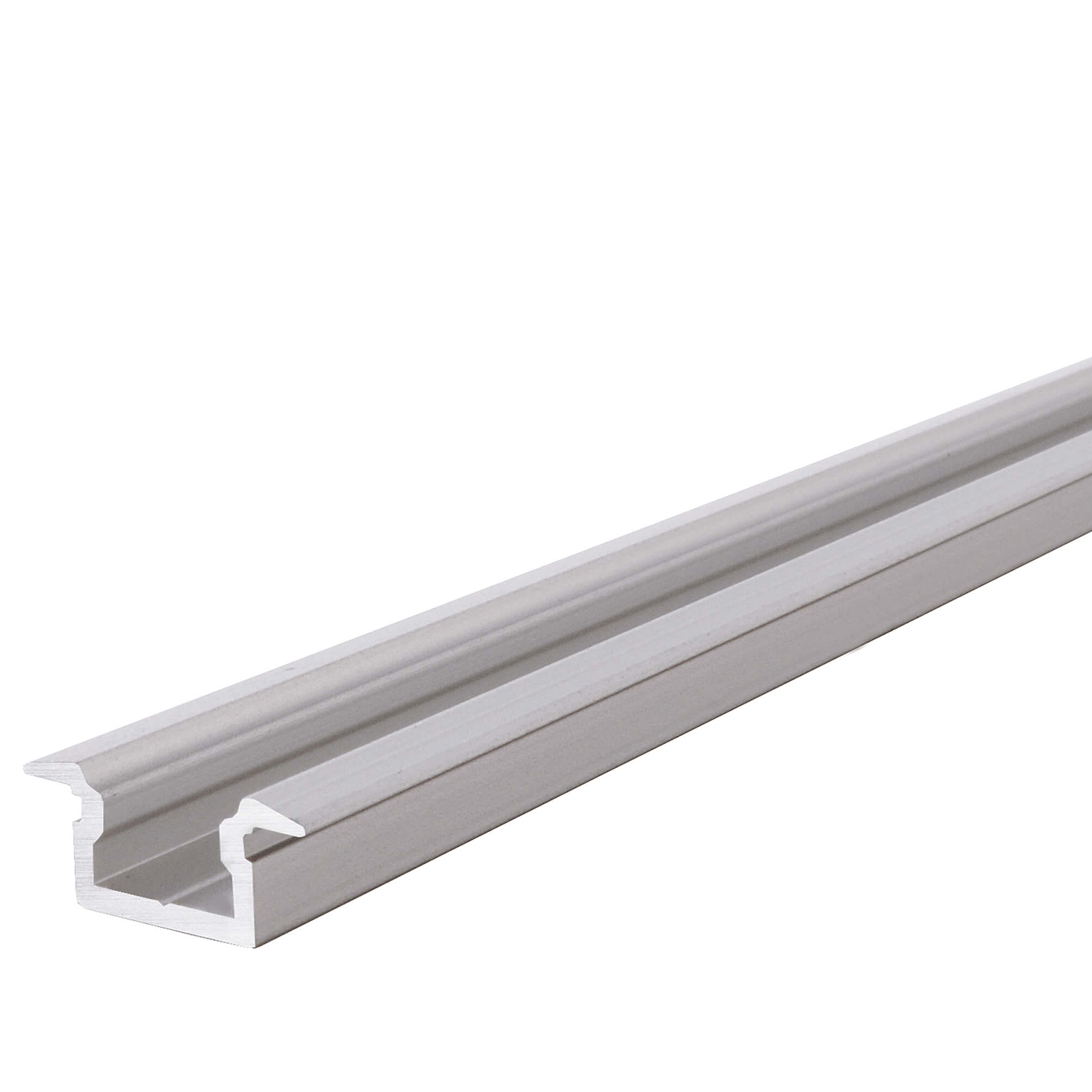 LED profile aluminium T-FLAT profile profiled bar, recessed, for strips strip led lights