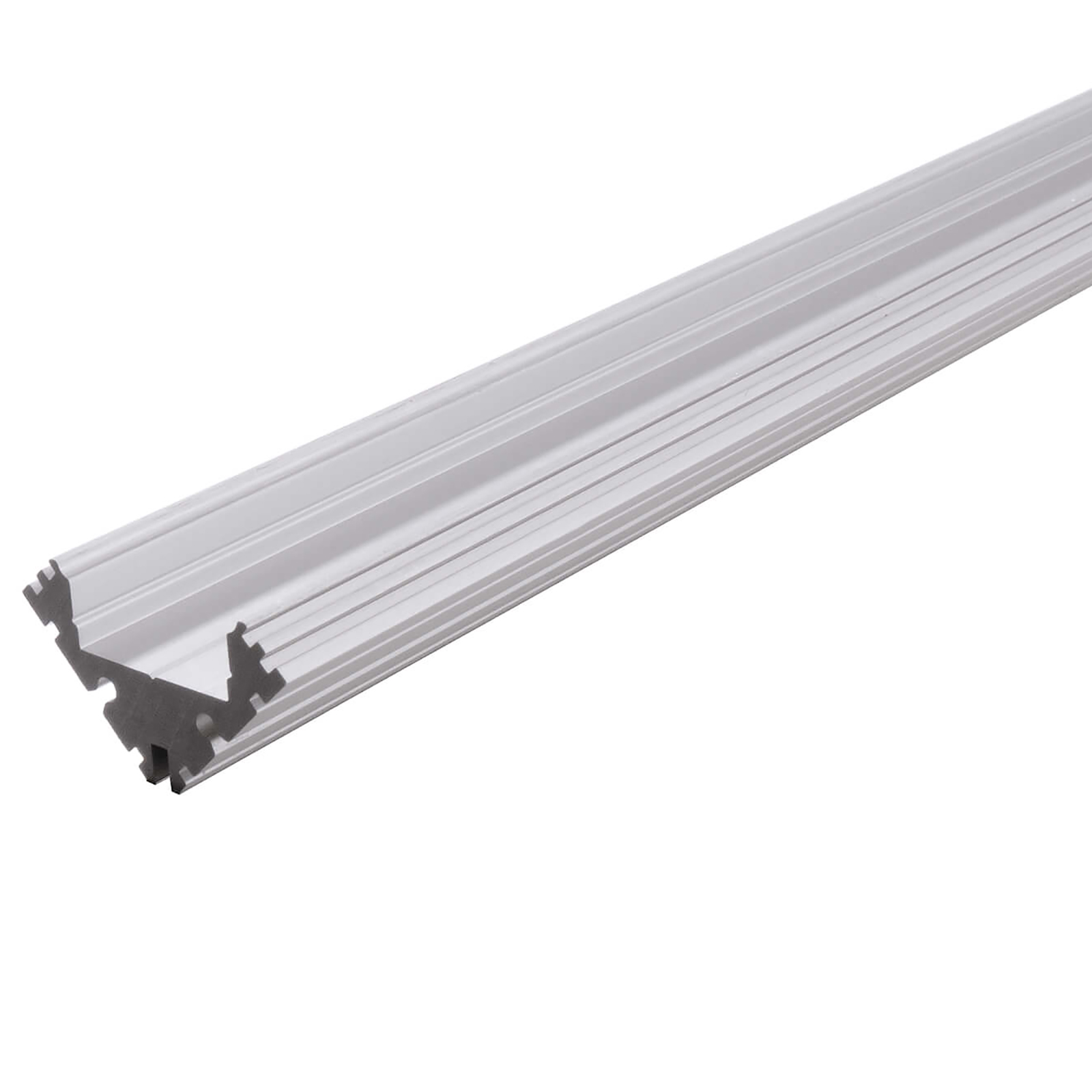 Profile recessed aluminium corner EV strips LED strip profiled bar light corner
