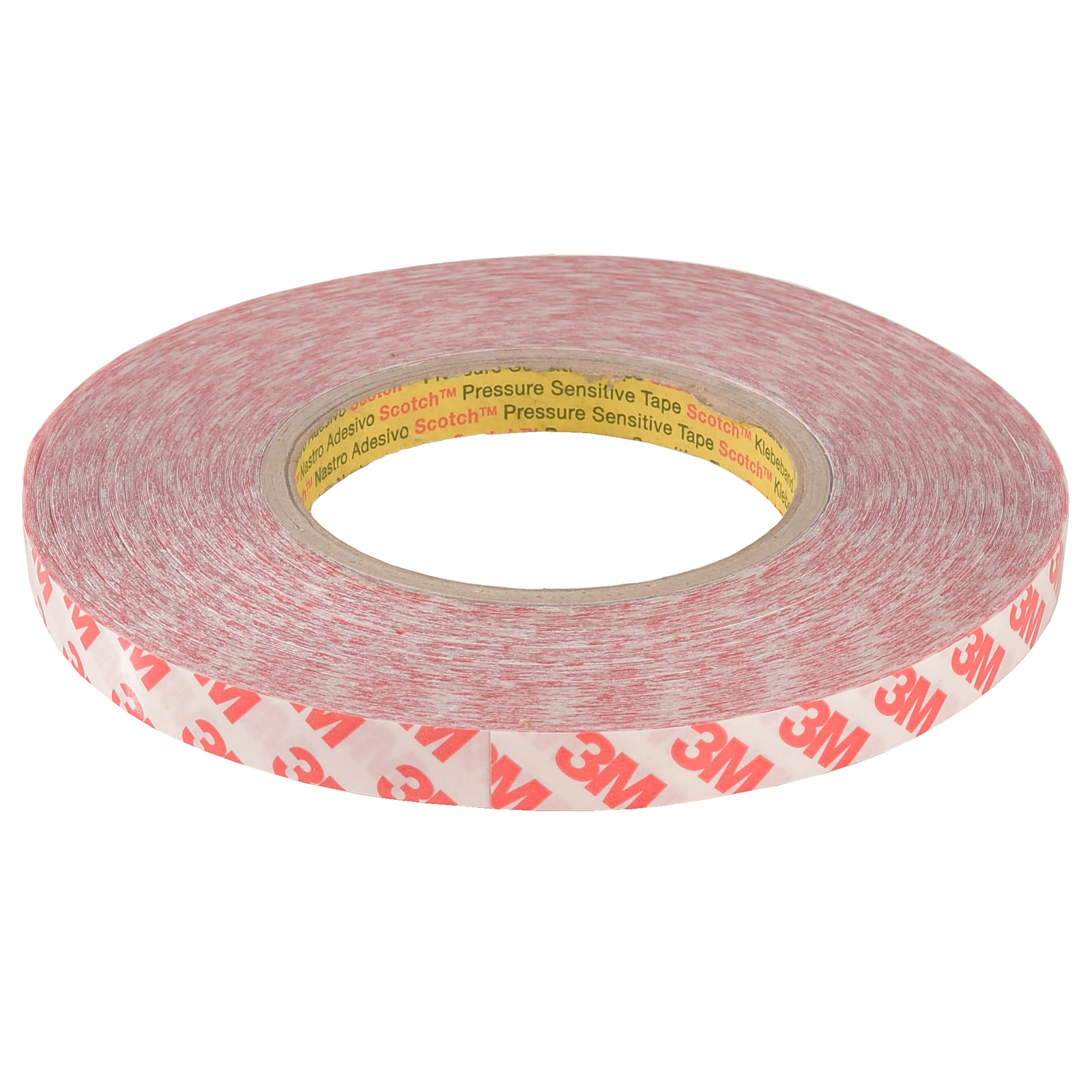Coil adhesive double-sided tape 3M 50 meters profiles-resistant LED strips 10mm