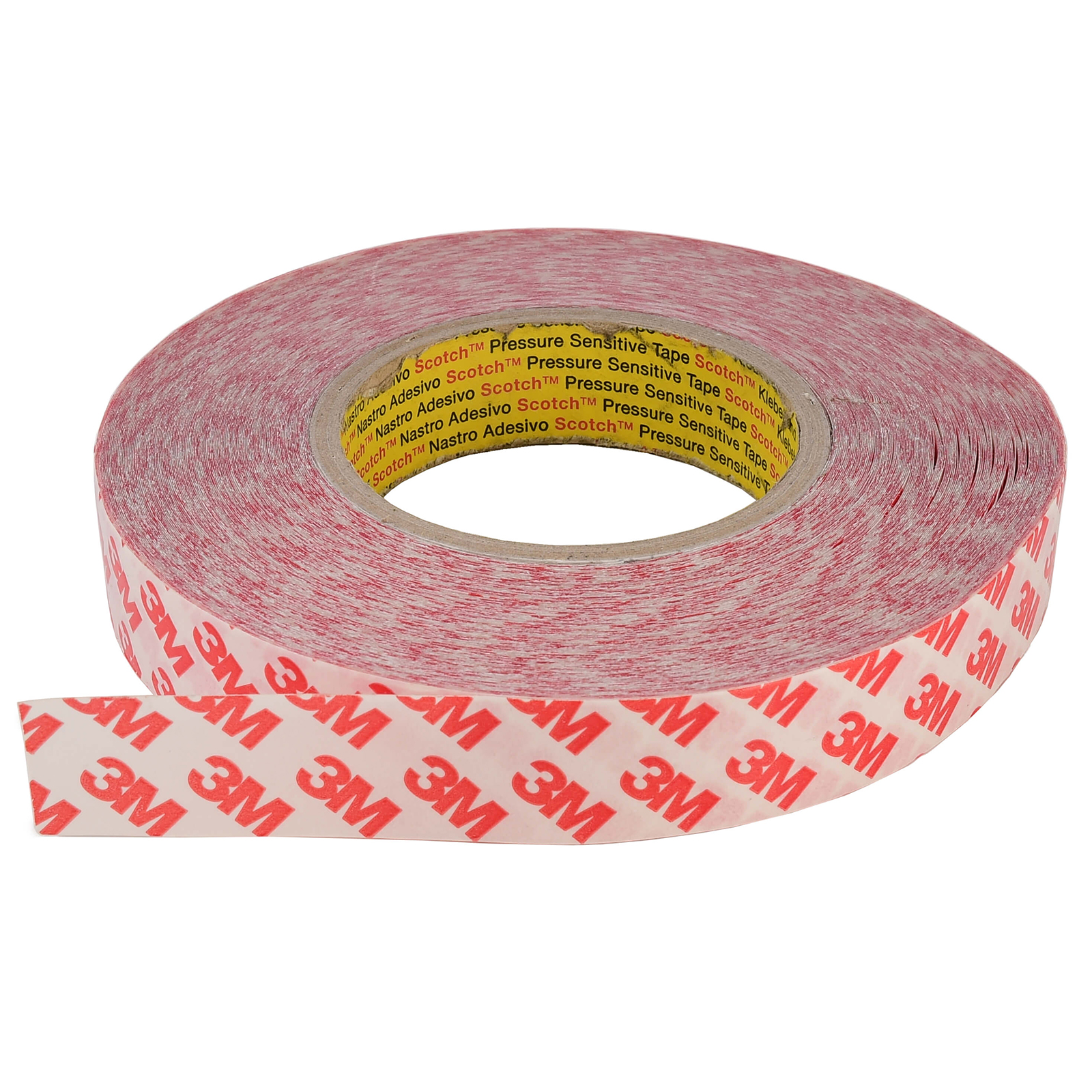 Adhesive 3M double-sided adhesive strips, LED profiles and tape 50 metres of ultra-tough 25mm