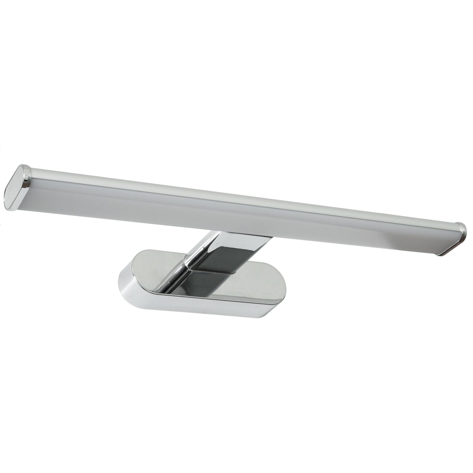 Applique Specchio Bagno Moderno dettagli su luce specchio bagno led 8w applique cromato lampada parete  moderna 4000k ip44