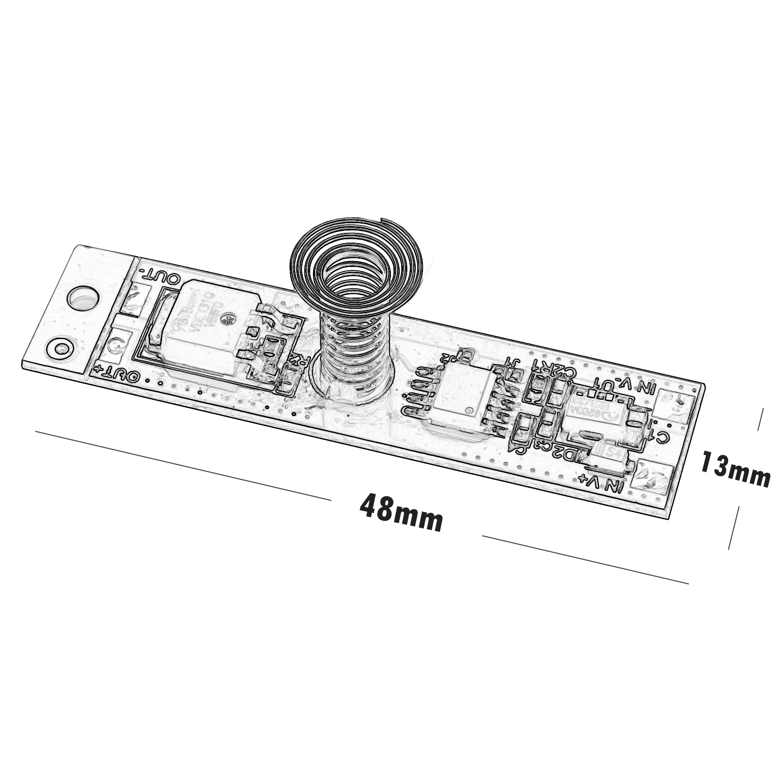 Touch switch profile, power off, strip, touch led bar 12v