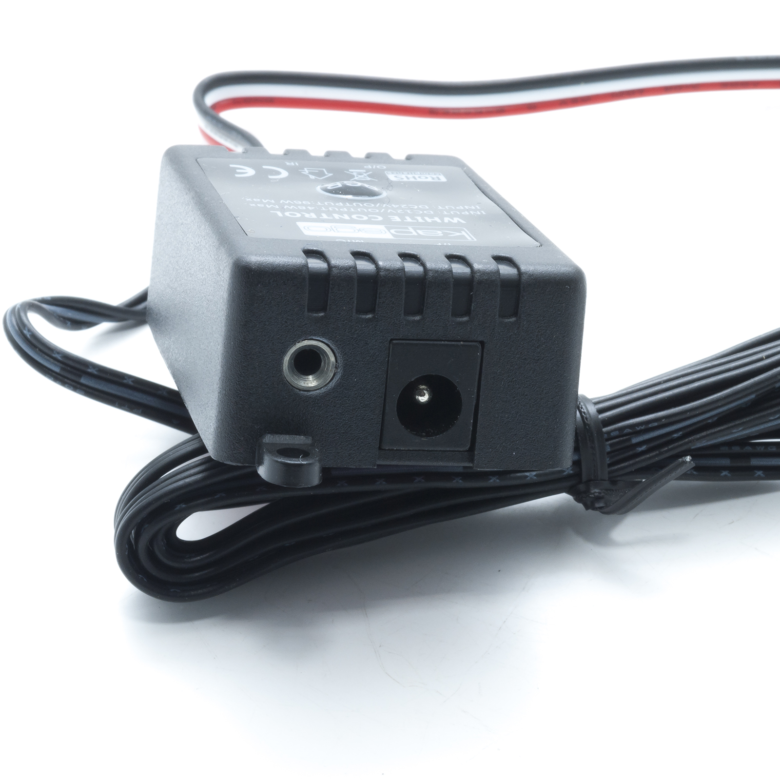 Centralina IR 2 CH dimmer luci lampade LED attivazione suono 3000K 6000K 12V 24V