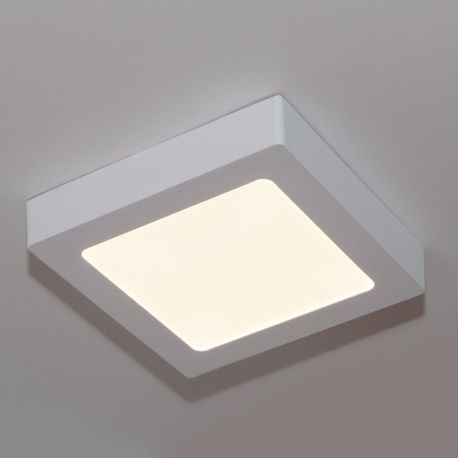 Illuminazione Bagno A Parete plafoniera led a soffitto 12w 60 led potenza 130w luce bianco caldo 3000k  230v