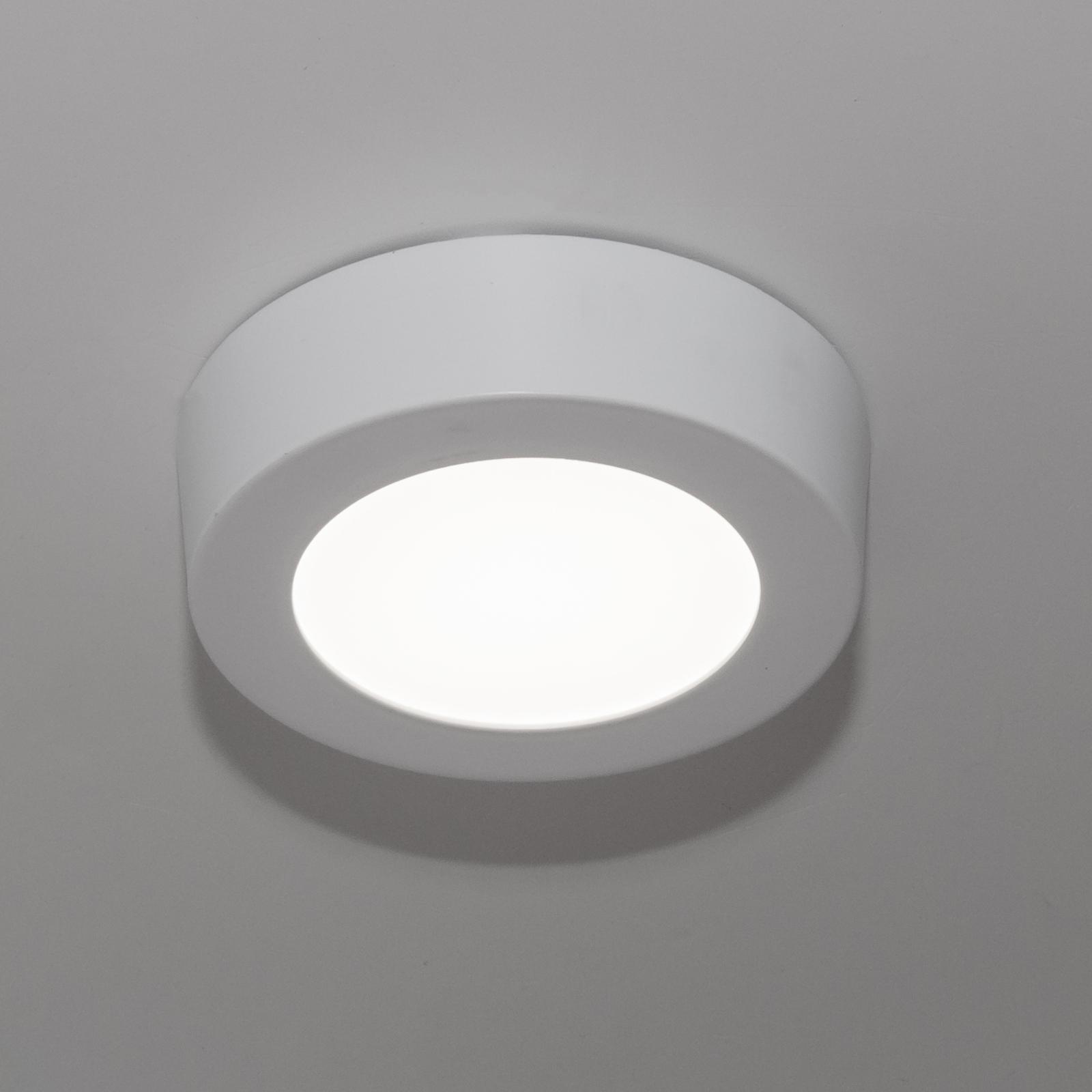 Illuminazione Bagno A Parete plafoniera lampada led soffitto muro parete 6w resa 70w luce bianco freddo  230v