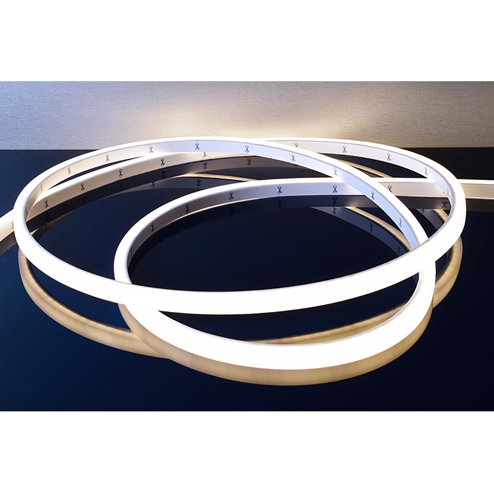 Flexible strip LED 50W immersion flex neon 3000K IP68 lights, fountain, 24V