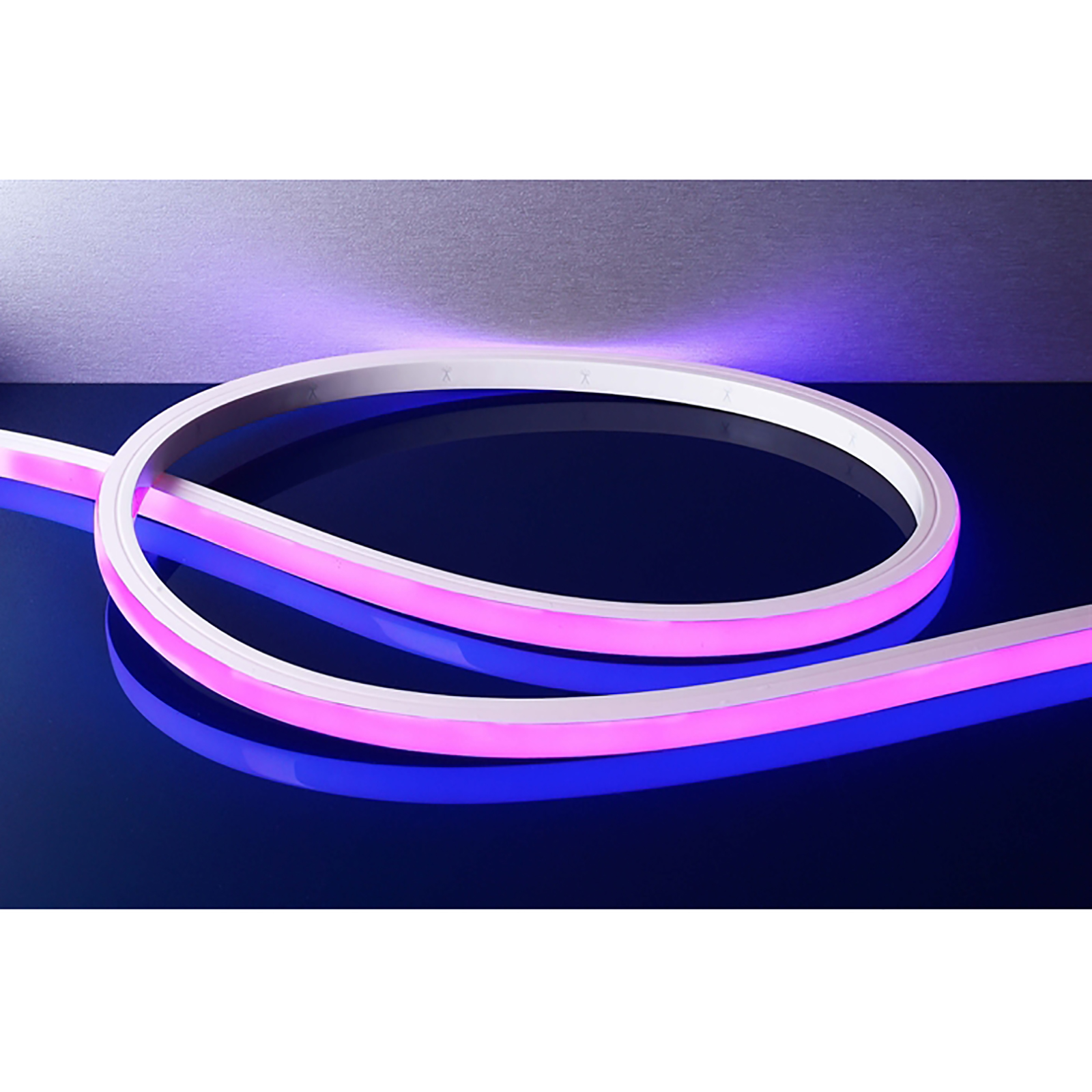 Strip LED flex neon flexible 43W RGB 3000K light swimming pool fountain IP68 24V