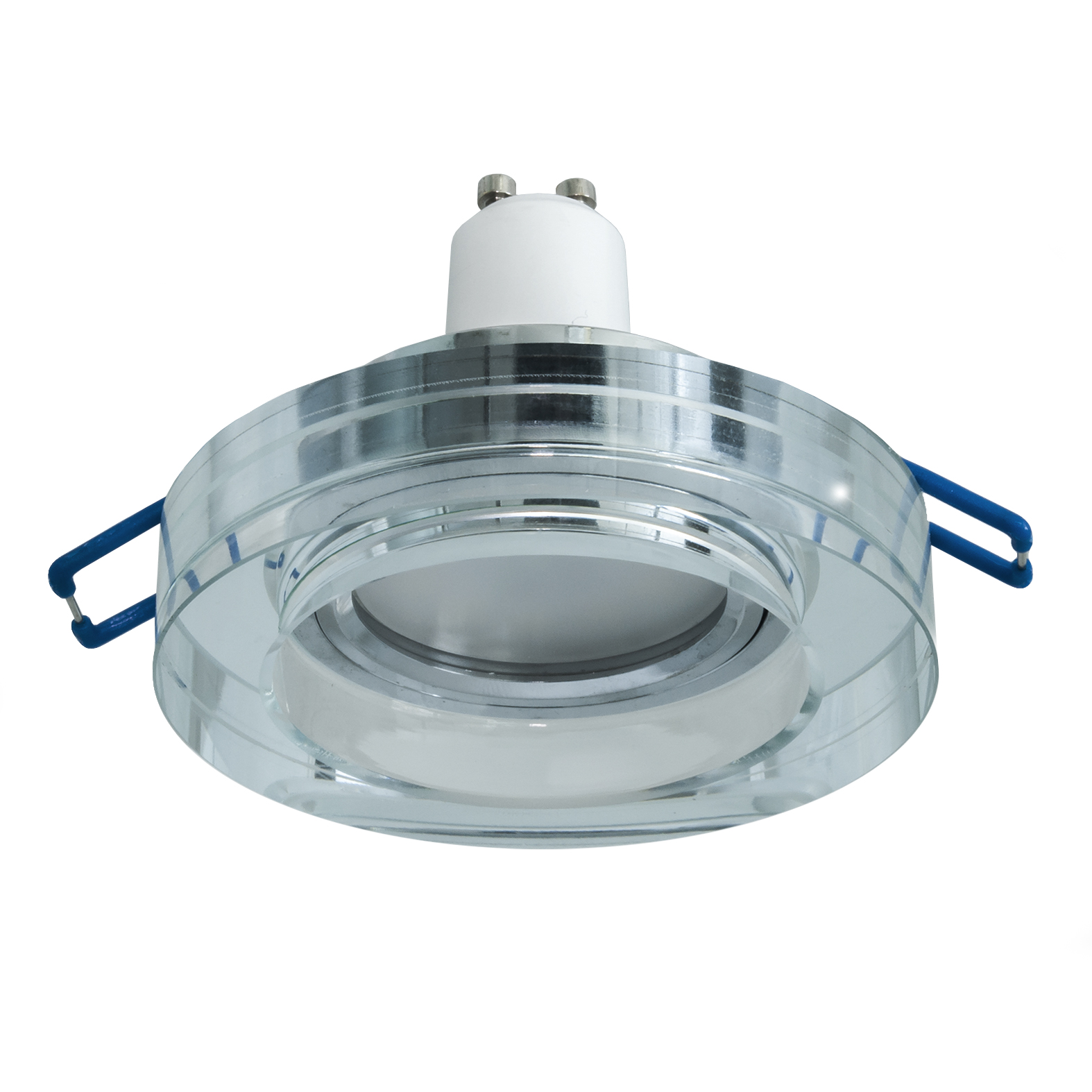 Spotlight mirrored glass recessed round 60mm lamp ceiling LED spot light 5W GU10