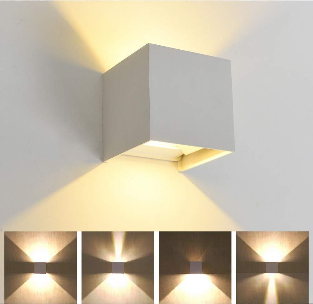Lampade Per Porticati Esterni applique led 6w lampada parete esterni interni ip55 doppi