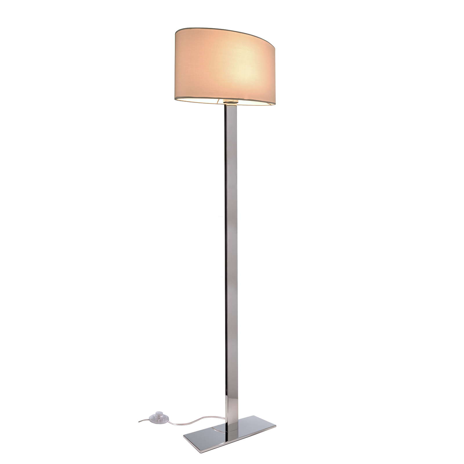 LED lamp modern light salon office studio floor lamp floor 160cm E27 230V