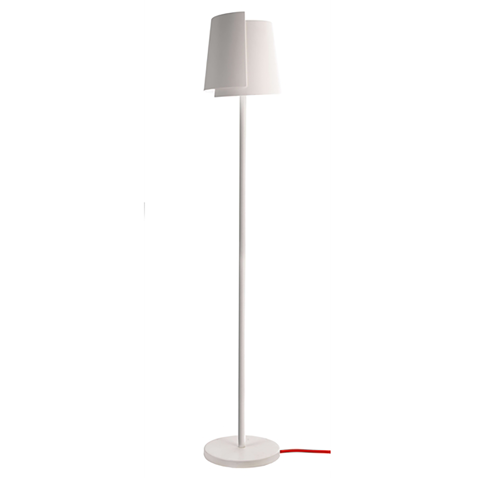 LED lamp ground floor plaster floor lamp modern E27 light hotel office, 230V