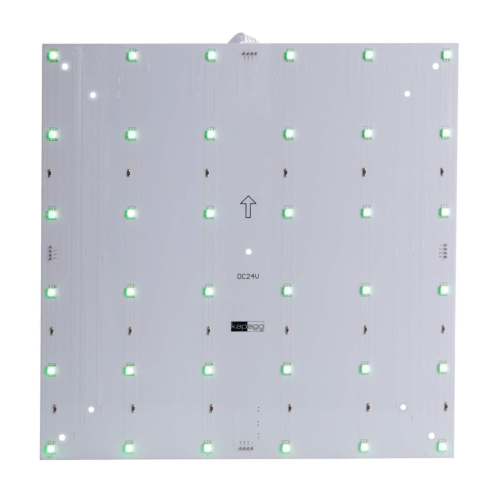 Plate modular LED RGB 9W colorful light backlight signs tables 24V