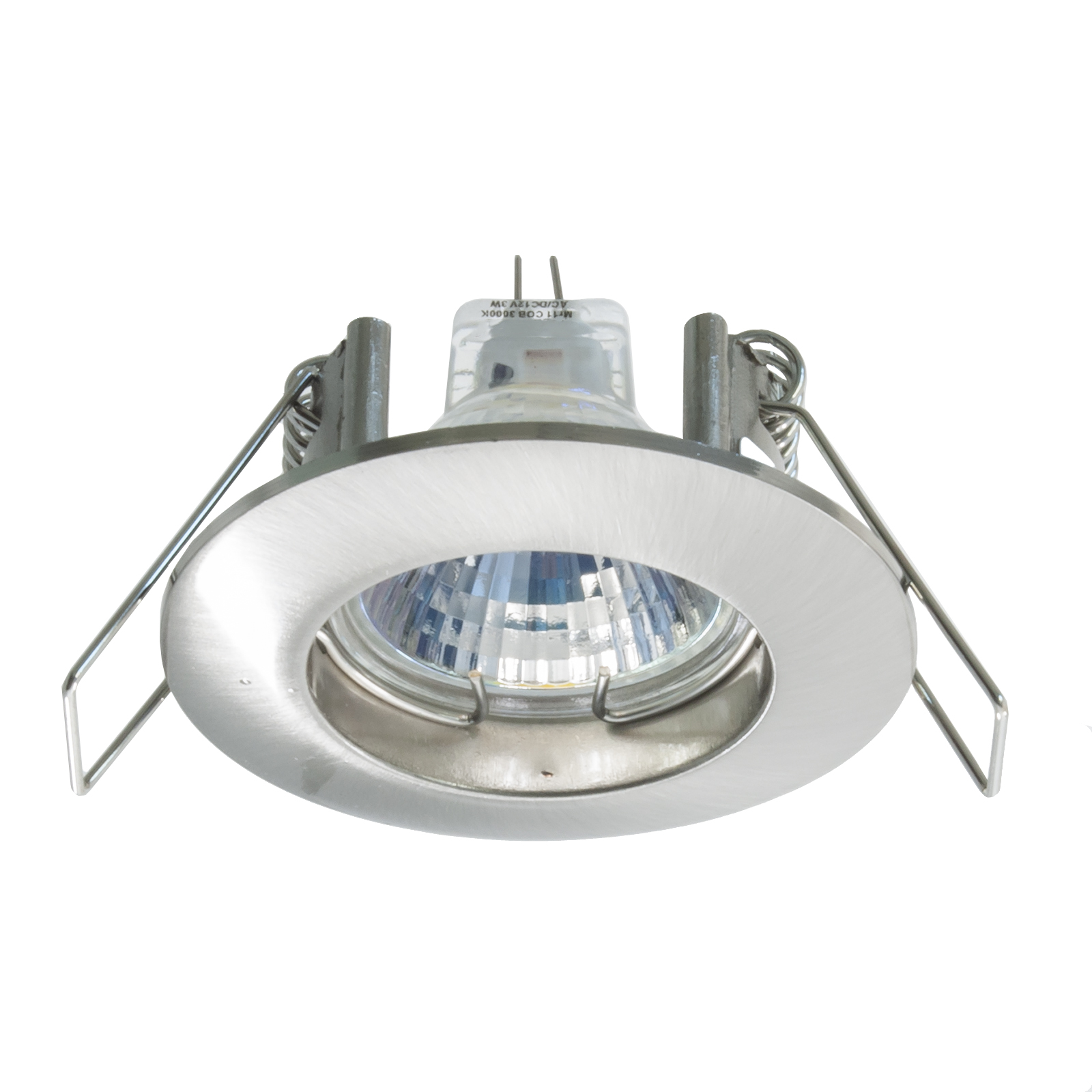 "LED spotlight MR11 recessed 4 "" ceiling 3W 12V attack G4 light boat camper hood"