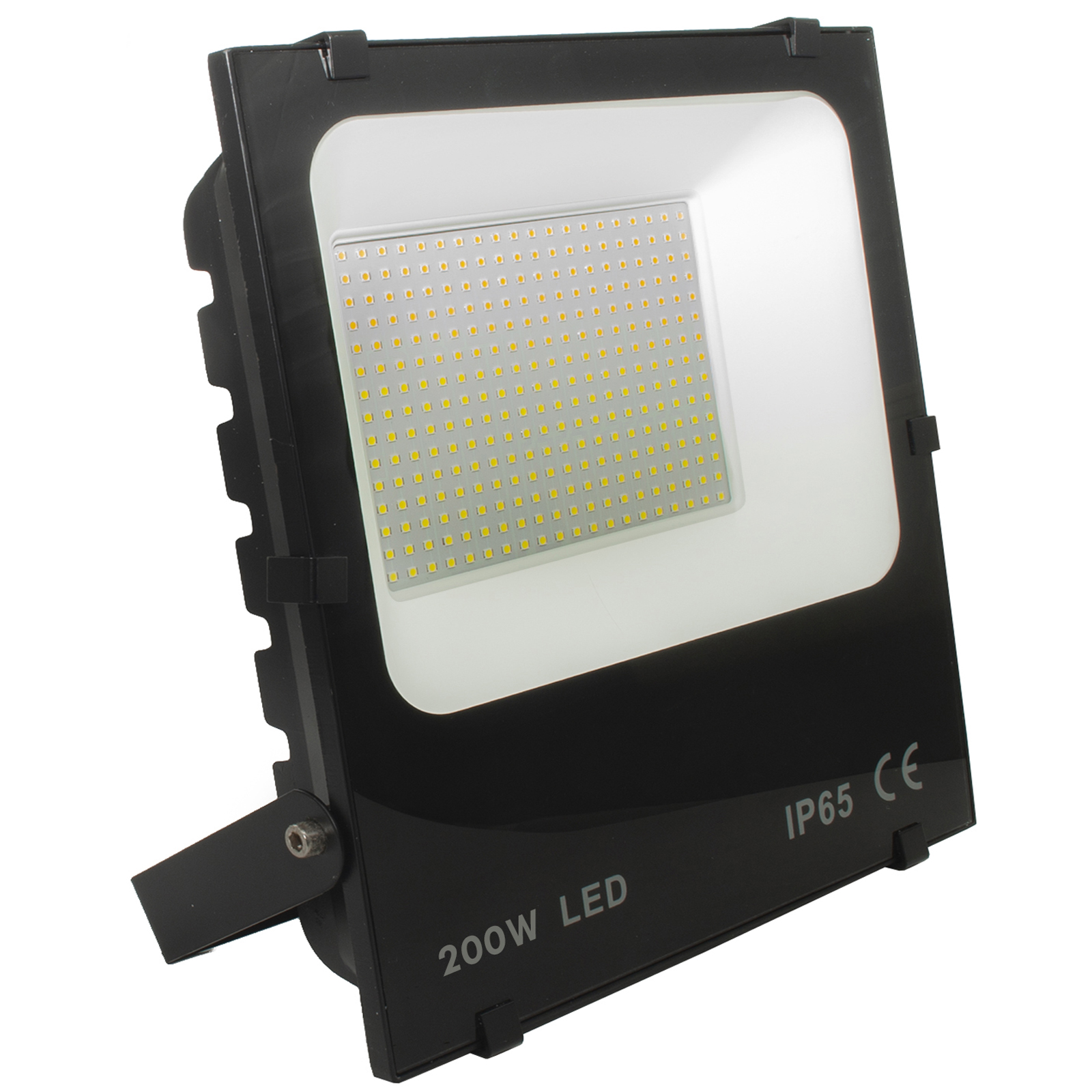 Waterproof slim LED floodlight 200W lights for garden garage 20000lm IP65