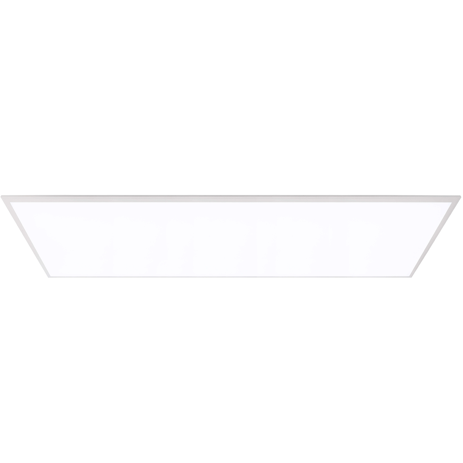 Slim 40W rectangular recessed LED panel 120x30 CCT light from 3000K to 5500K 230V