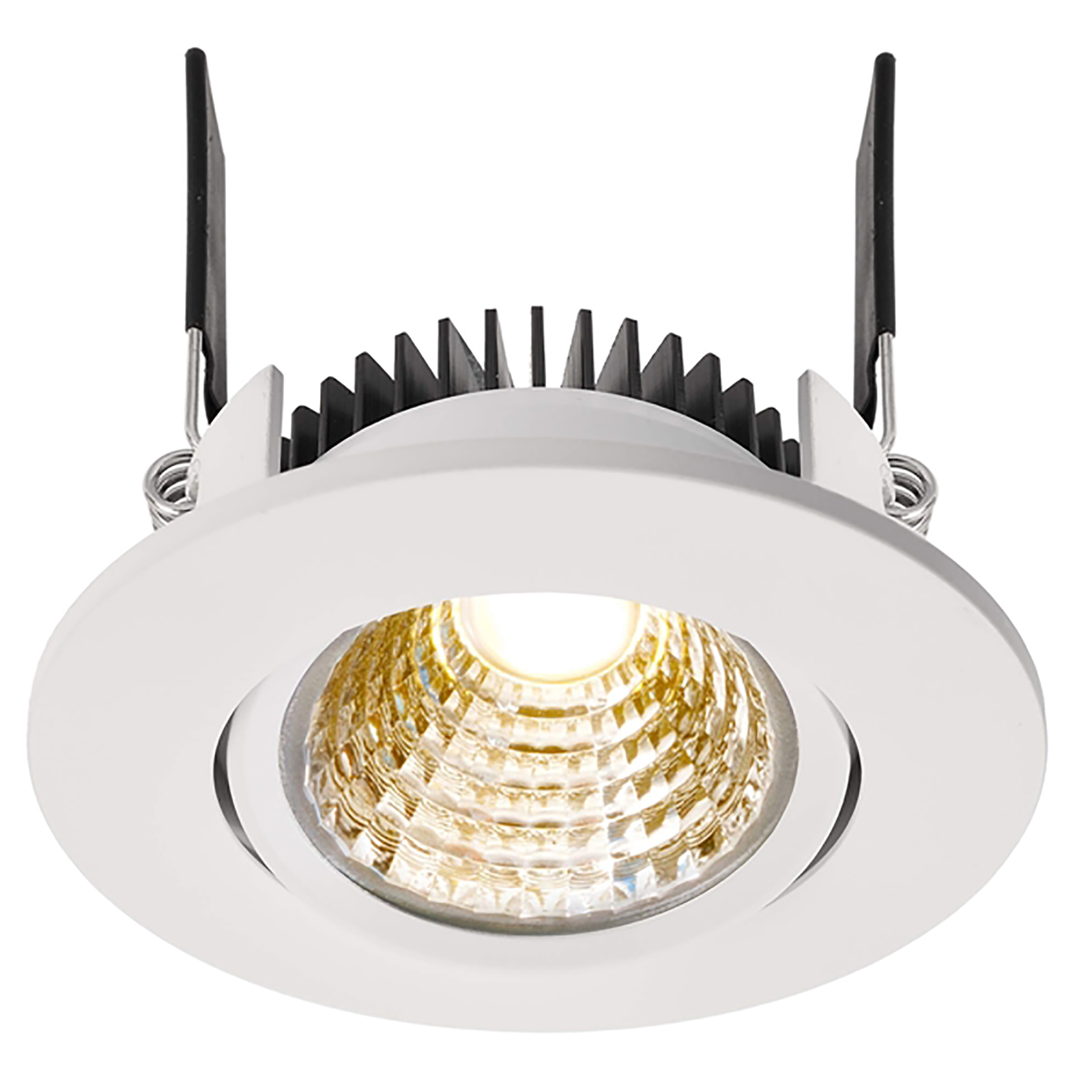 Adjustable spotlight LED 9W recessed 7cm dimmable ra90 lights showcase 24V
