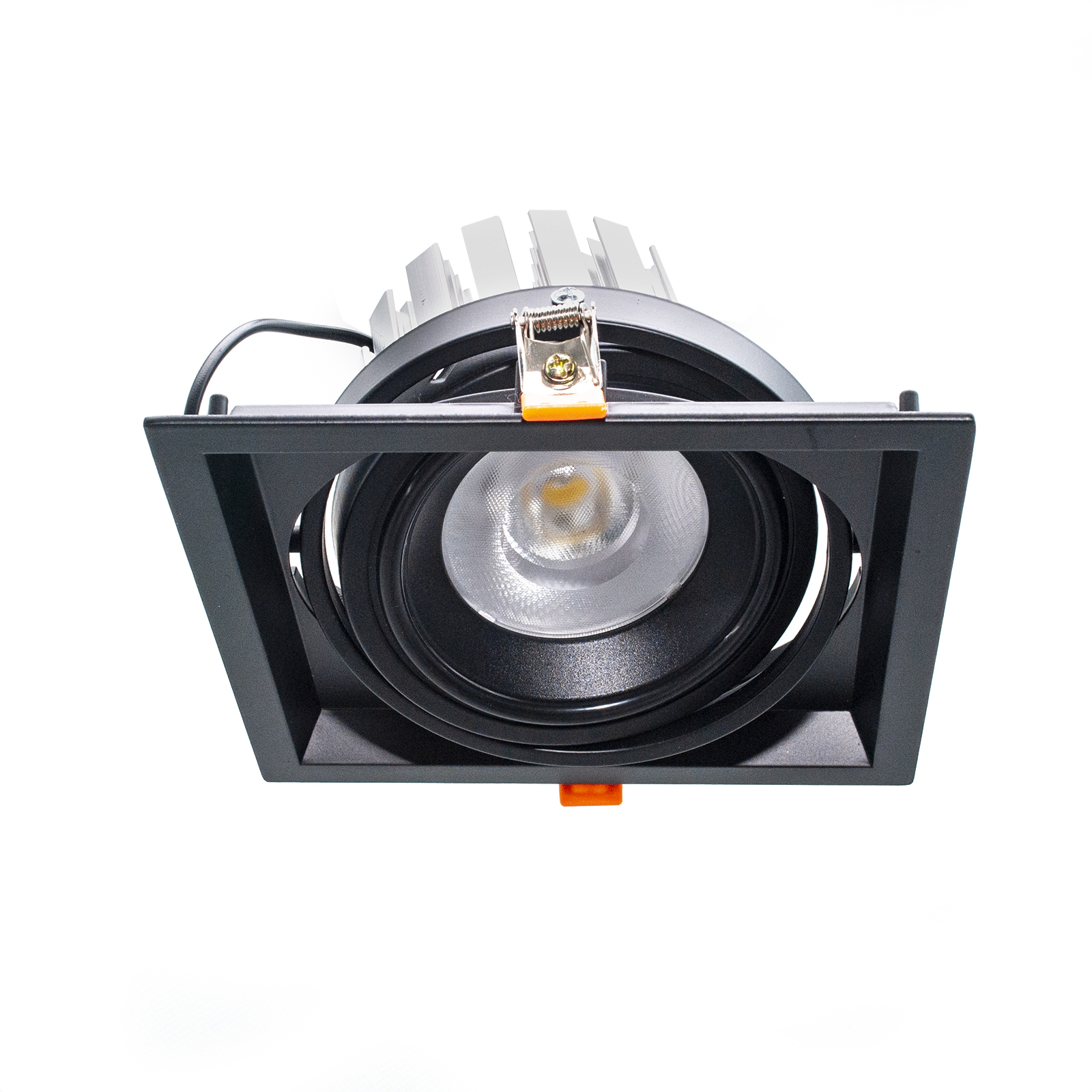 Adjustable recessed square spotlight 160mm LED 30W AR111 showcase lights 230V RA90