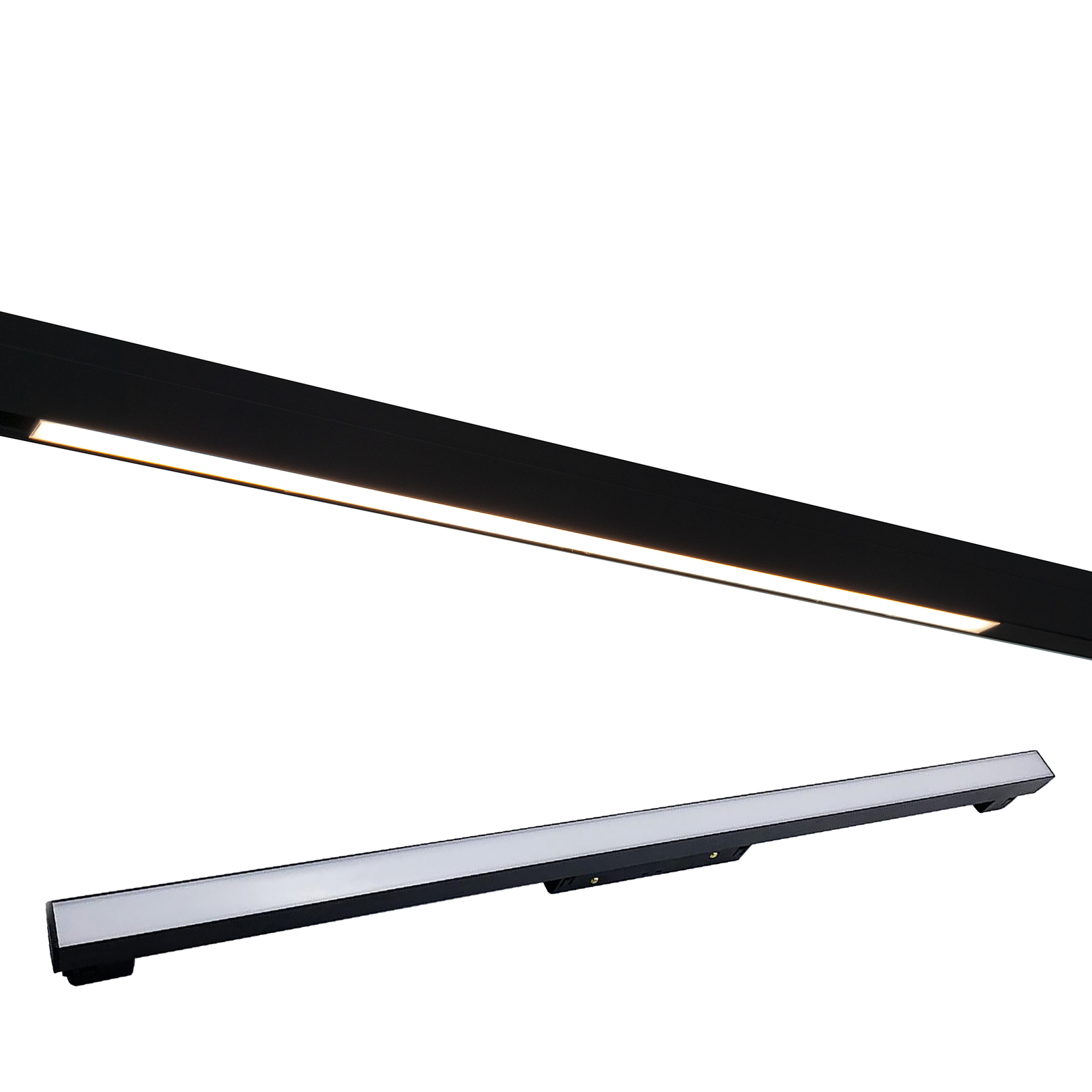 Magnetic track spotlight LED 20W 48V track slim bar interior light shop 60cm