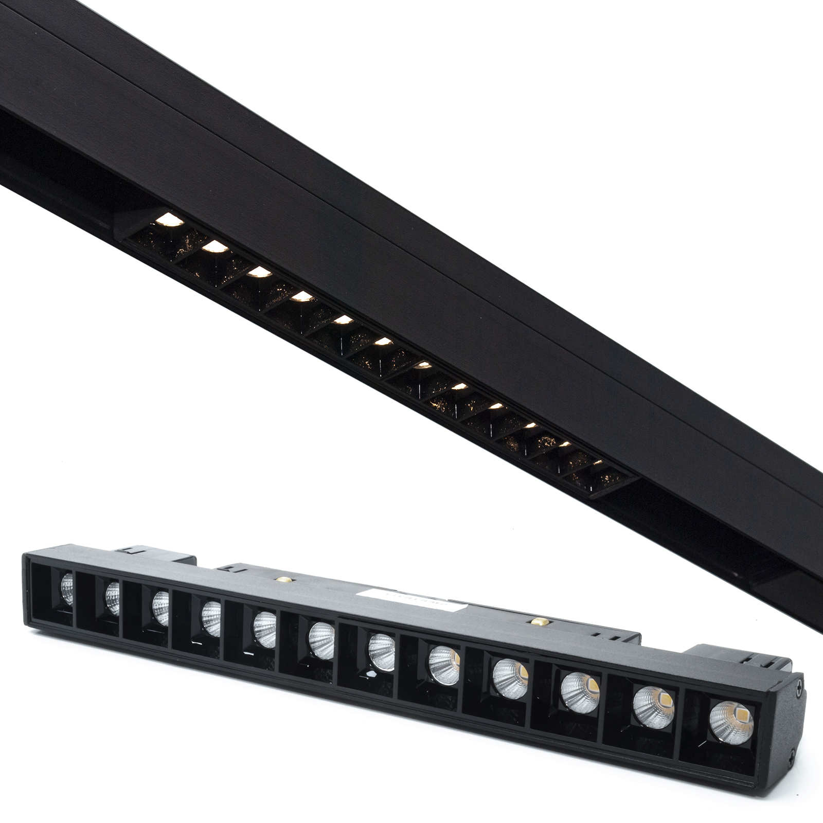 Spotlight track magnetic LED bar 12W 48V track light interior shop window