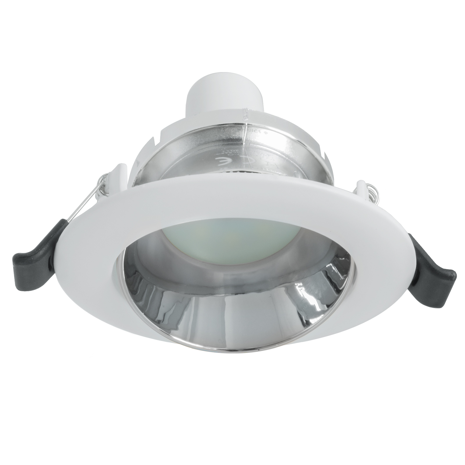 Adjustable LED spotlight 8W GU10 recessed 75mm round kitchen ceiling lights