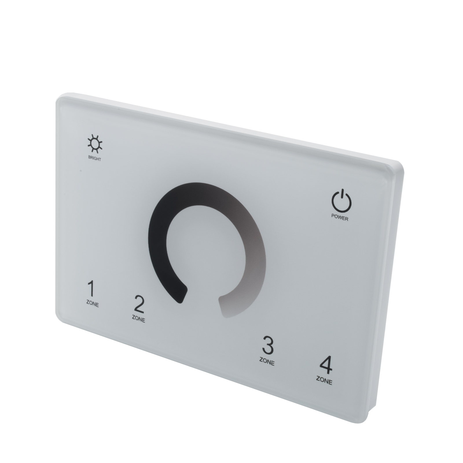 Wall recessed touch dimmer controller LED panel 503 4-zone DMX 512 RF box
