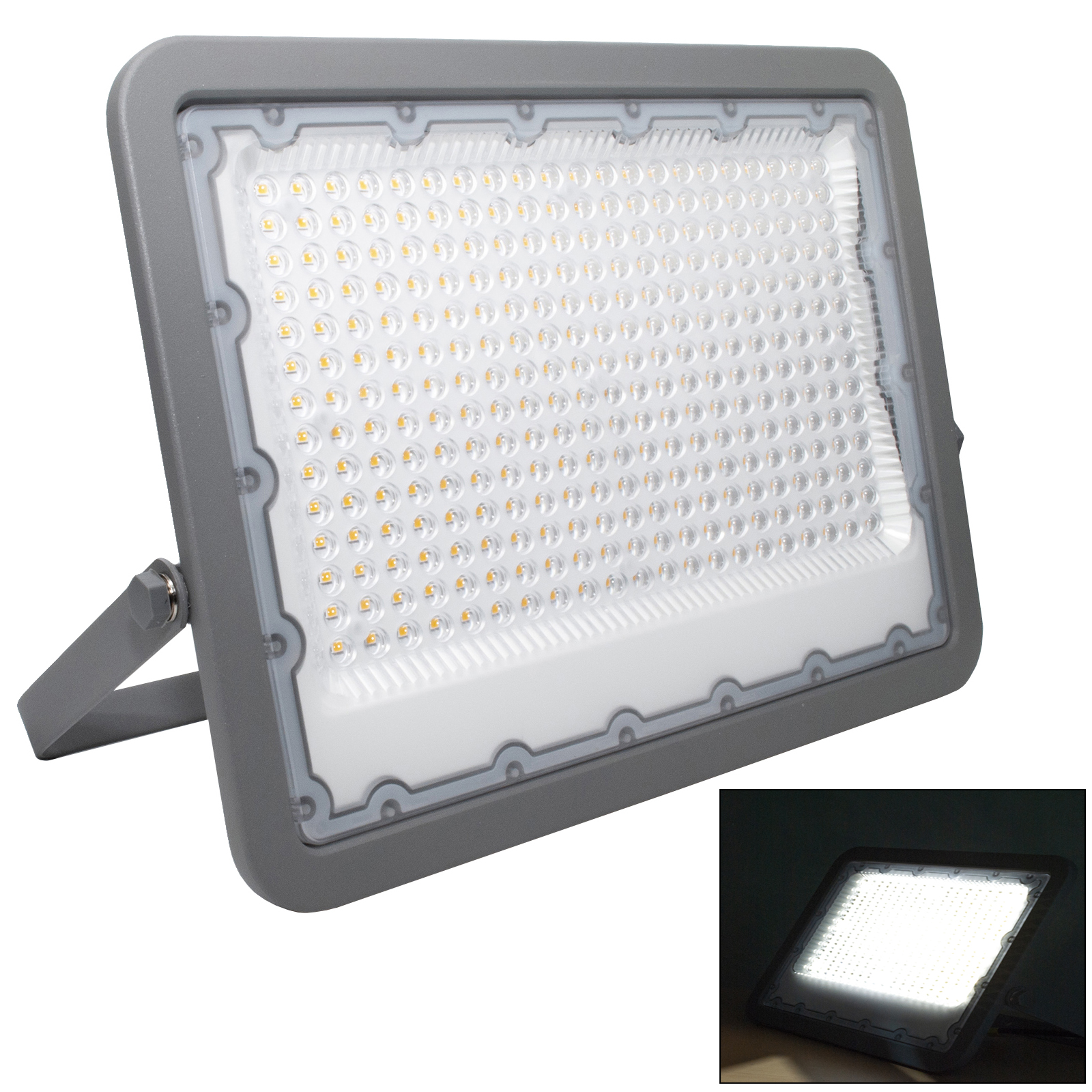 LED lighthouse 200W high efficiency slim LUMILEDS outdoor garden light projector IP65 230V