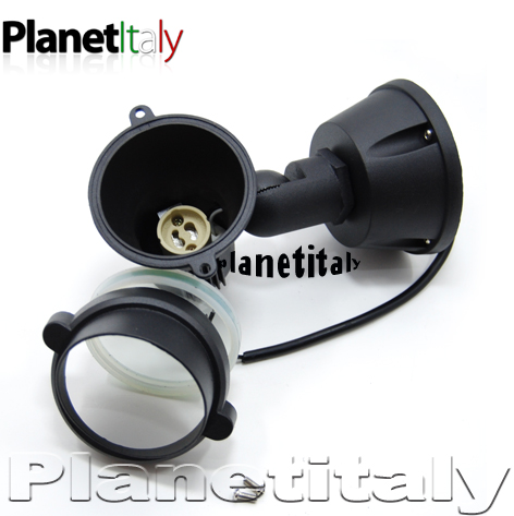 Sinfonia f aretti proiettori giardino planetitaly for Faretto stagno da giardino gu10