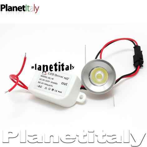Valchiria faretto incasso led 3cm planetitaly led a for Piccole luci a led