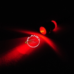 Mini led incasso punto luce led luce rosso cielo stellato rosso led starheaven 12v DC red light 0.2w