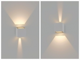 Applique da parete a led Cubo