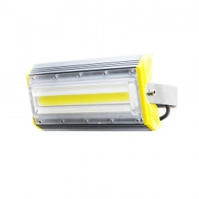 Led floodlight light outdoor IP66 led linear cob 50w made 500w with bracket 230v compact rectangular