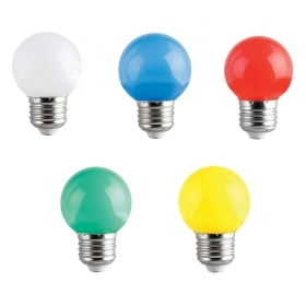 Lampadina led E27 mini globo 2