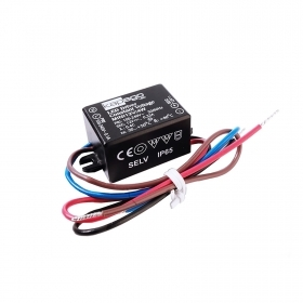 Power supply mini 4W 12V 330mA compact transformer for LED outdoor IP65