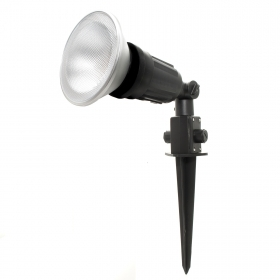 Kit led spot light garden stake outdoor ip44 adjustable lamp spot 15w ip65 E27