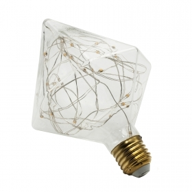 Led bulb decorative diamond 2w