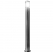 Led street lamp garden 100cm stainless steel led lamp 10w e27 warm cool RGBW