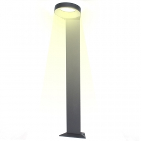 Streetlight pole LED die-cast aluminium garden 6w warm light 3000k 215lm IP44