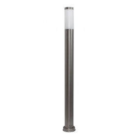 Streetlight pole led stainless steel garden lamp E27 806lm 110cm RGBW