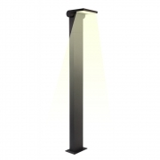 Streetlight pole led 10w garden lighting 1m light adjustable warm 3000k
