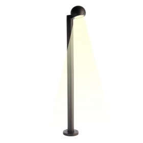 Streetlight pole led integrated 12W warm light garden lighting 90cm 230v
