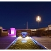 Lamp lumen external led light, decorative garden light bulb, E27 included RGBW