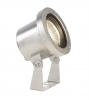 Led spotlight diving IP68 18W 24V stainless steel swimming pool, hot light 1200lm cable 10m