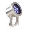 Spotlight 6 led diving IP68 21W 24V stainless steel pool fountain 490lm RGB
