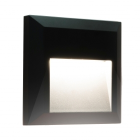 Marks steps led square lighting avenue stairs garden IP65 natural light