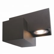 Applique die-cast aluminum outdoor led light input wall-lamp IP54