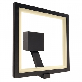 Applique square LED outdoor IP