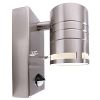 Applique stainless steel outdoor le