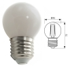 LED bulb mini globe E27 glass light 360 degree 4W 400 lumen 230V warm light