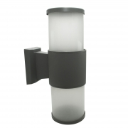 Wall sconce double lamp E27 outdoor IP65 aluminum led 230V light wall wall