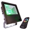 Led floodlight RGB 30W RF external IP65-Synchronized memory 8 games light 230V dmx